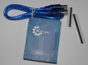 Keyes Uno: Arduino Uno kompatibles Board mit ATmega 328 und CH340G