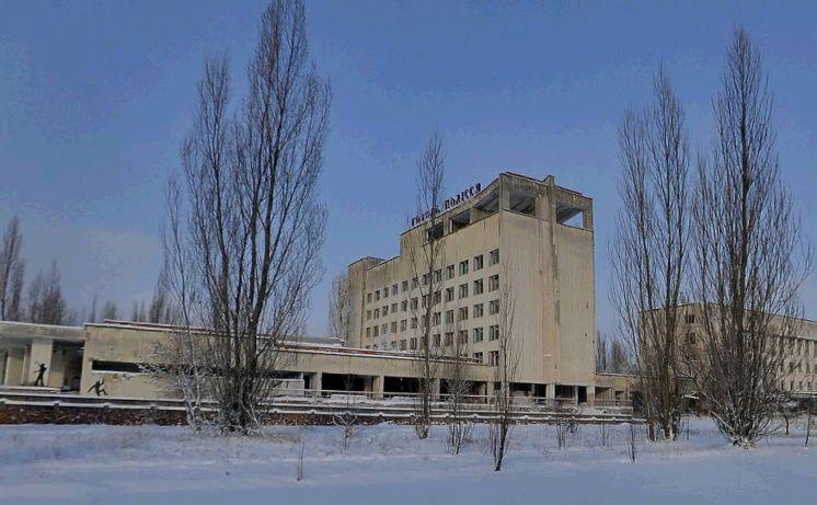 Prypjat: Hotel Polissya - yandex.ru