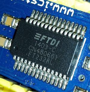 """""""FTDI 1403-C CN480661 FT232RL"""""""