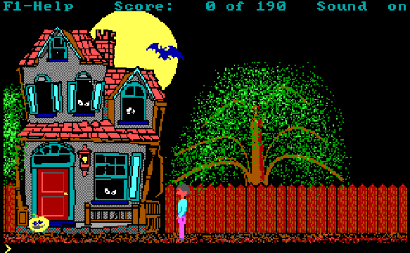 DOS Spiele: Hugo's House of Horrors - 1990 - Gray Design Associates