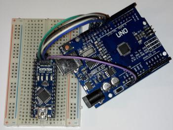 Uno und Nano: Setup um Bootloader zu brennen