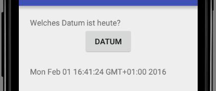 Ausgabe von Calender.getTime().toString()