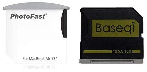 Die beiden Adapter (PhotoFast und Bosvisions/Baseqi)