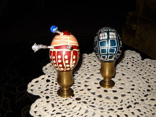 Dalek und TARDIS - kultakala - imgur