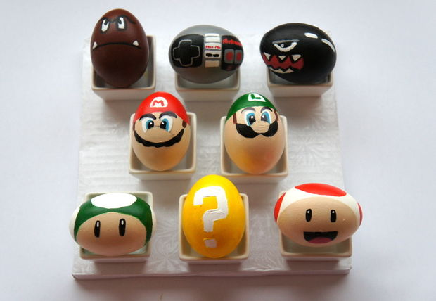 Super Mario Bros. Ostereier - Imnopeas - Instructables