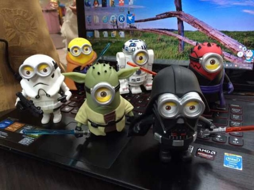 Star Wars vs. Minions