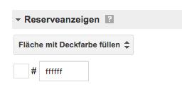 Google AdSense: Überprüfe, mit welcher Deckfarbe die Anzeigenfläche gefüllt wird