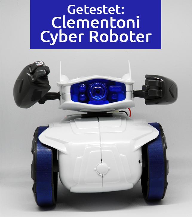 Getestet: Clementoni Cyber Roboter, ein Bluetooth-programmierbares Lernspielzeug