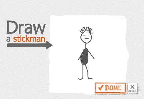 Mit der Maus ein Strichmännchen zu zeichnen ist gar nicht so einfach.