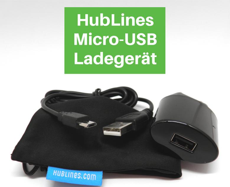HubLines Micro-USB Ladegerät Schnellladen Adapter Stecker Smartphone