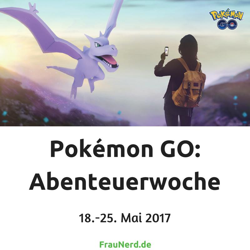 Pokémon GO- Abenteuerwoche - mehr Infos auf FrauNerd.de