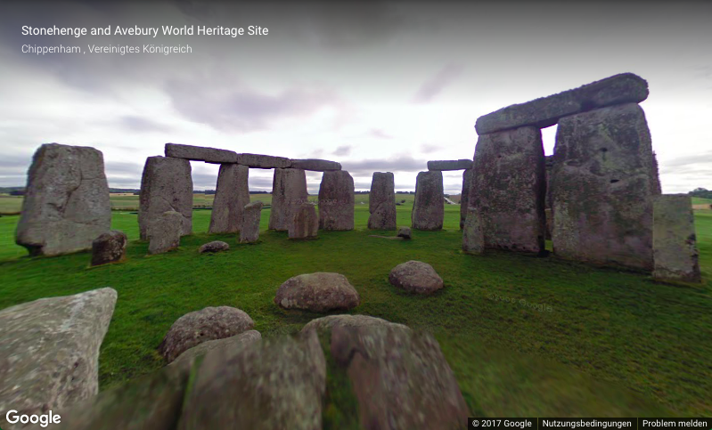 Stonehenge: Virtueller Rundgang. Google Arts & Culture.