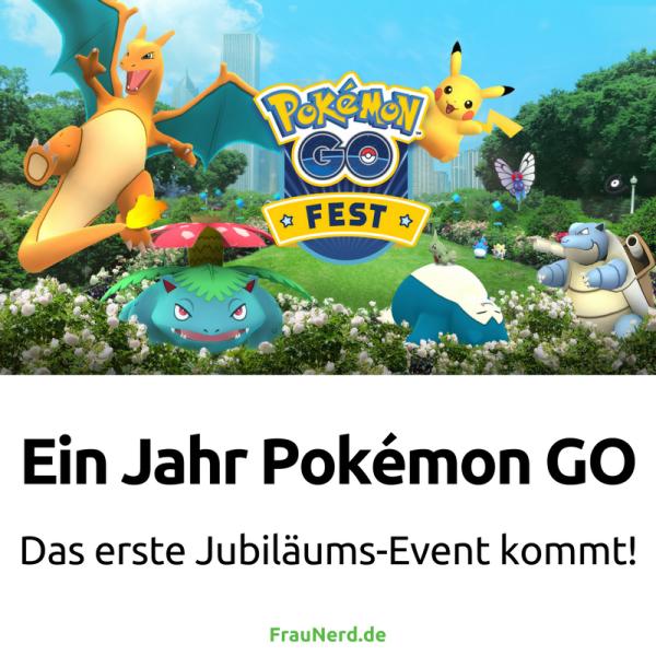 Ein Jahr Pokémon GO- Das erste Jubiläums-Event kommt!