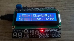 Arduino Stopwatch. Foto: Conor M, Instructables.