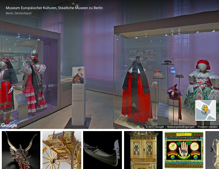 Museum Europäischer Kulturen Berlin: Virtueller Rundgang dank Streetview.