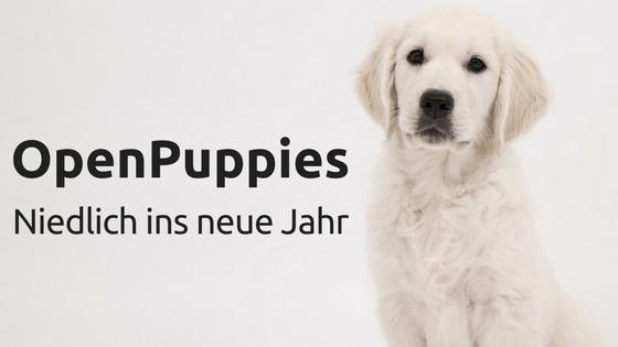 OpenPuppies: Niedlich ins neue Jahr